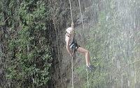 Rappeling Waterfalls