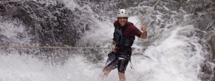 Pacuare River Waterfall Rappel